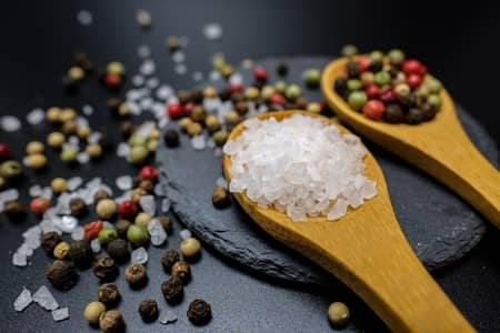 banho de guiné com sal grosso