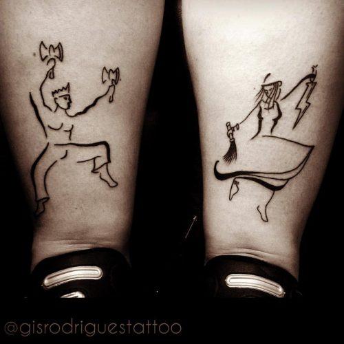 Tatuagem Xangô