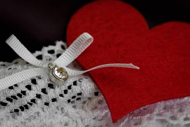 Roupa íntima da pessoa amada