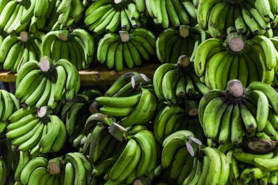 Simpatia da banana verde