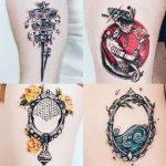 Várias tatuagens Oxum