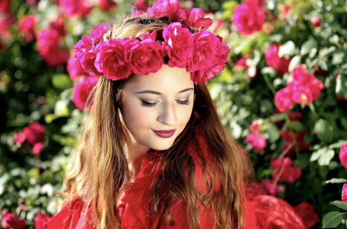 Rosas vermelhas para simpatia