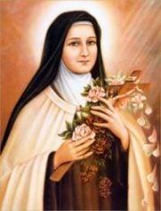 Oração de Santa Terezinha das Rosas