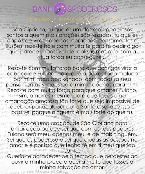 9fdbe56f0be05 Oração de São Cipriano para amarração definitiva   Em 24 Horas