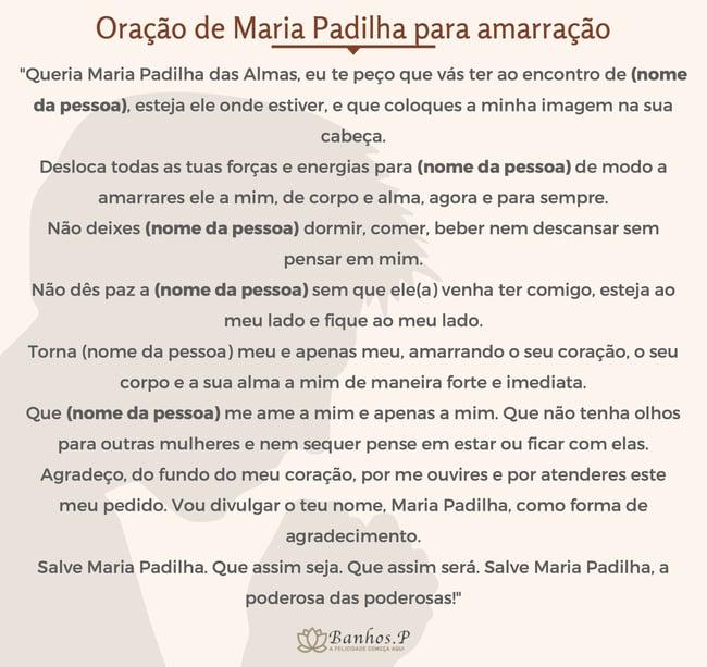 Oração de Maria Padilha Rosa Vermelha de amarração