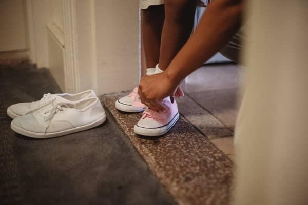 Sapato para simpatia