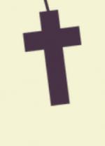 1º Começamos pela cruz