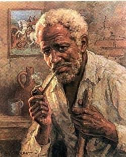 Oração ao Preto Velho para cura