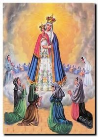 Nossa Senhora do bom parto: Durante a gravidez