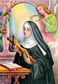 Oração para uma causa impossível de Santa Rita de Cássia