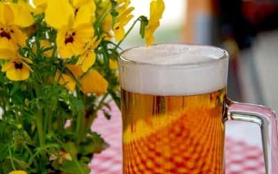 Cerveja para banho de Umbanda