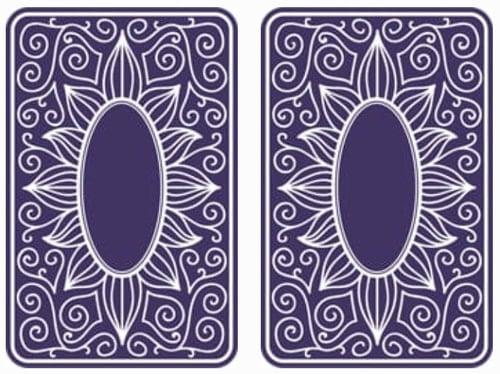 Baralho de cartas número 3