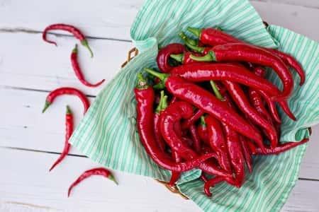 Pimentas vermelhas