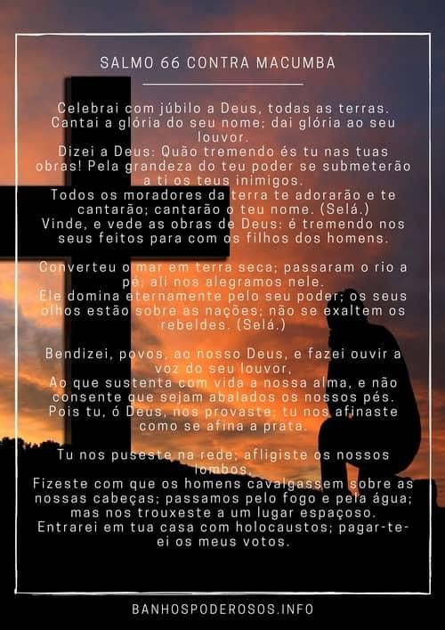 Salmo 66 contra macumba