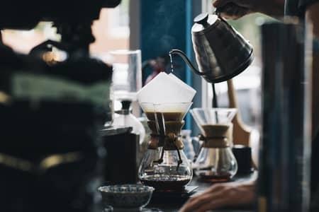 cafe coado na calçinha