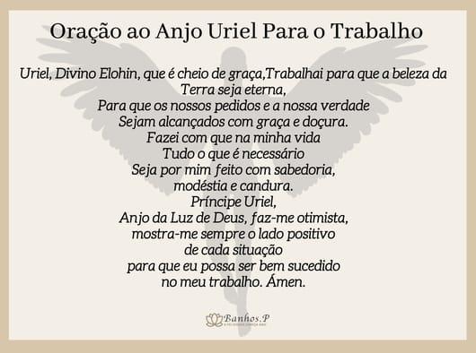 Oração ao Anjo Uriel