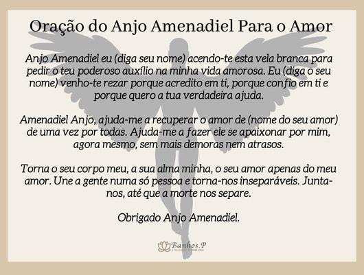 Oração do Anjo Amenadiel