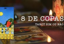 8 de Copas no Tarot
