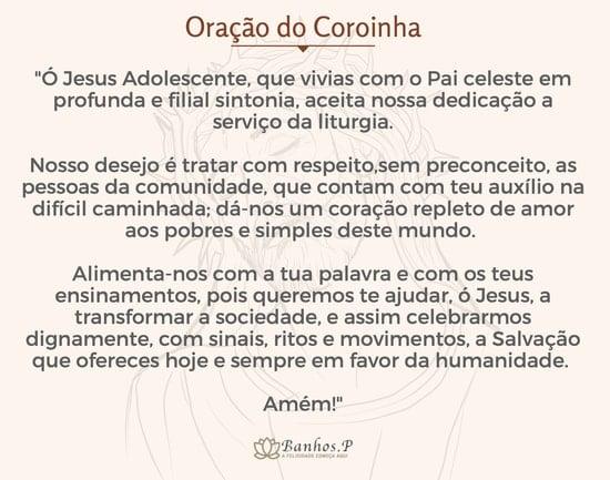 Oração do coroinha original