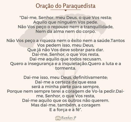 Oração do paraquedista