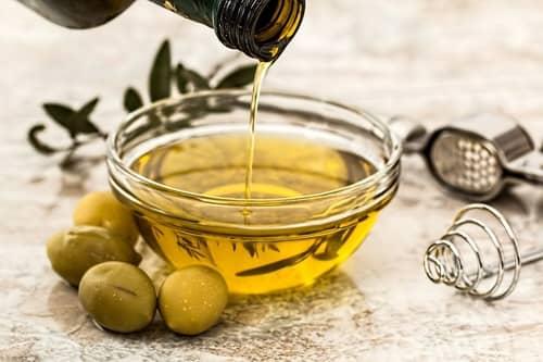 Azeite de oliva para simpatia