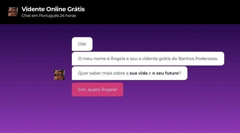 Vidente Online Grátis em Português: Chat 24 Horas da Ângela